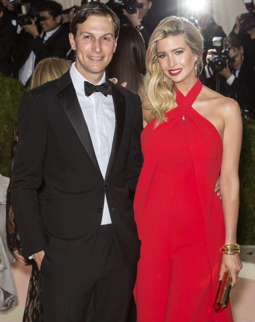 Jared Kushner and Ivanka Trump at Met Gala
