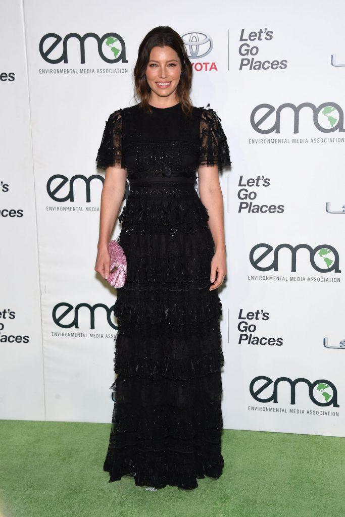 Jessica Biel at the Annual Environmental Media Awards