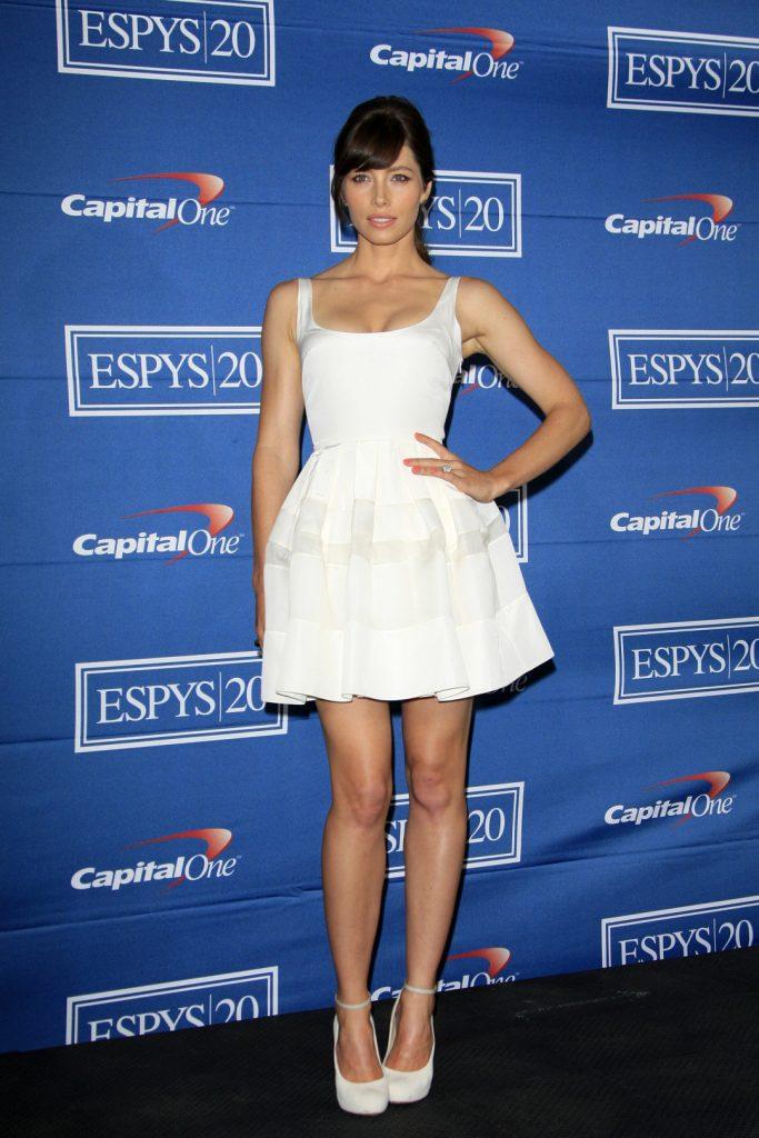 Jessica Biel at the ESPY Awards