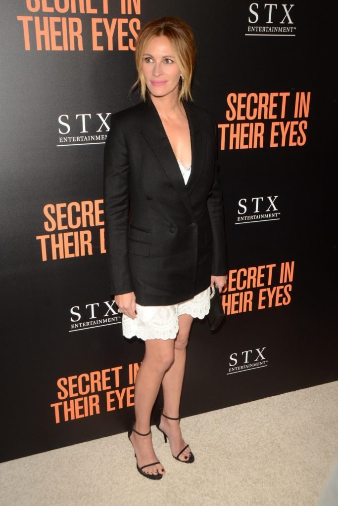 Julia Roberts at the Secret In Their Eyes Premiere