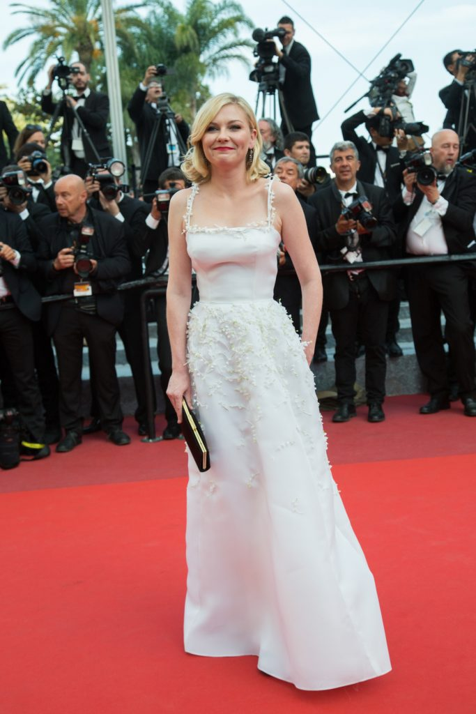 Kirsten Dunst at the Cannes Film Festival