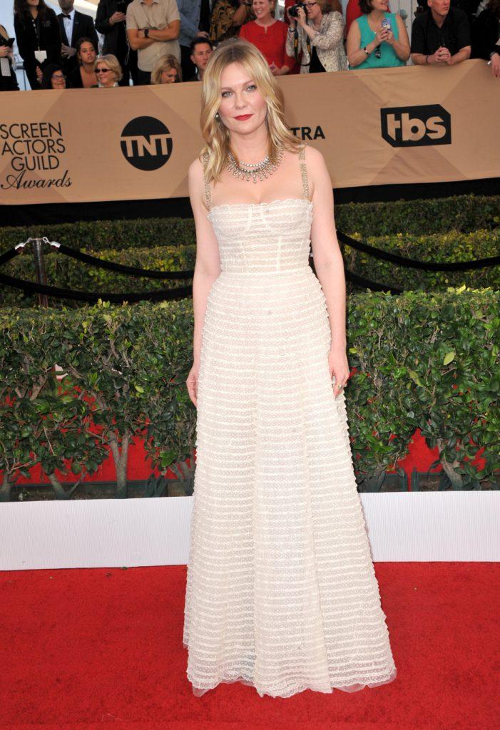 Kirsten Dunst at the Screen Actors Guild Awards