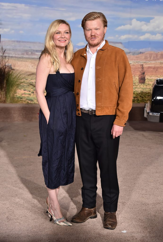 Kirsten Dunst with Jesse Plemons
