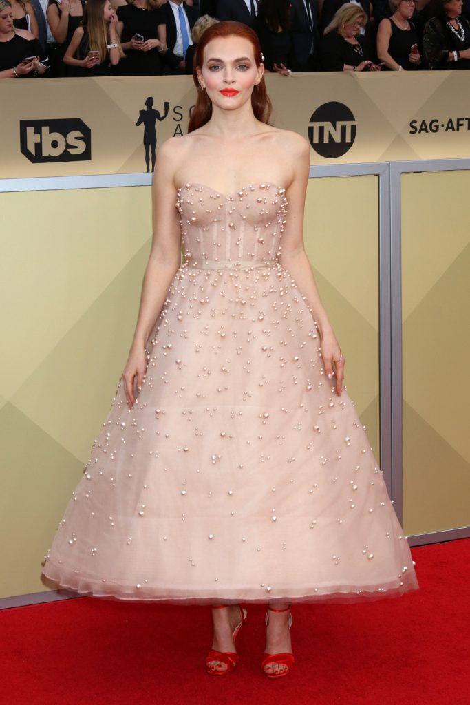 Madeline Brewer at the Screen Actors Guild Awards
