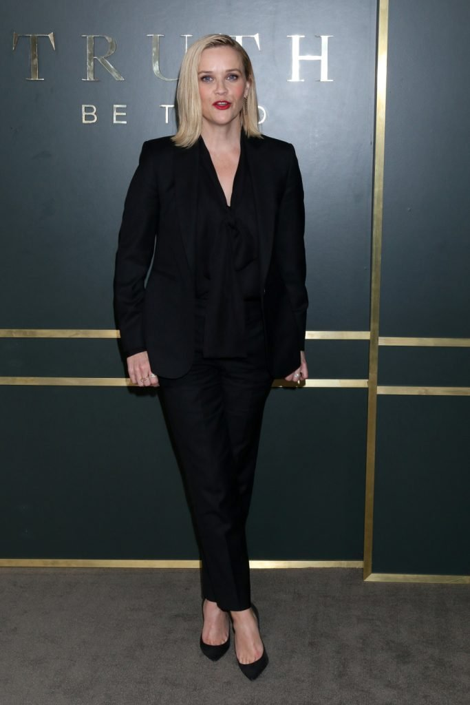 Reese Witherspoon at the Truth Be Told Premiere