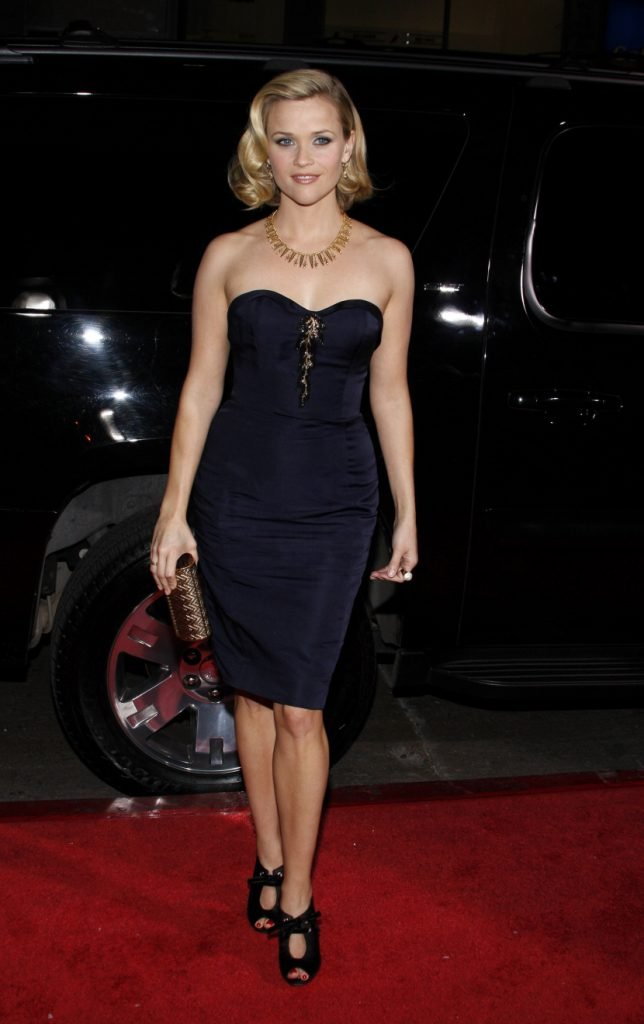 Reese Witherspoon in black dress