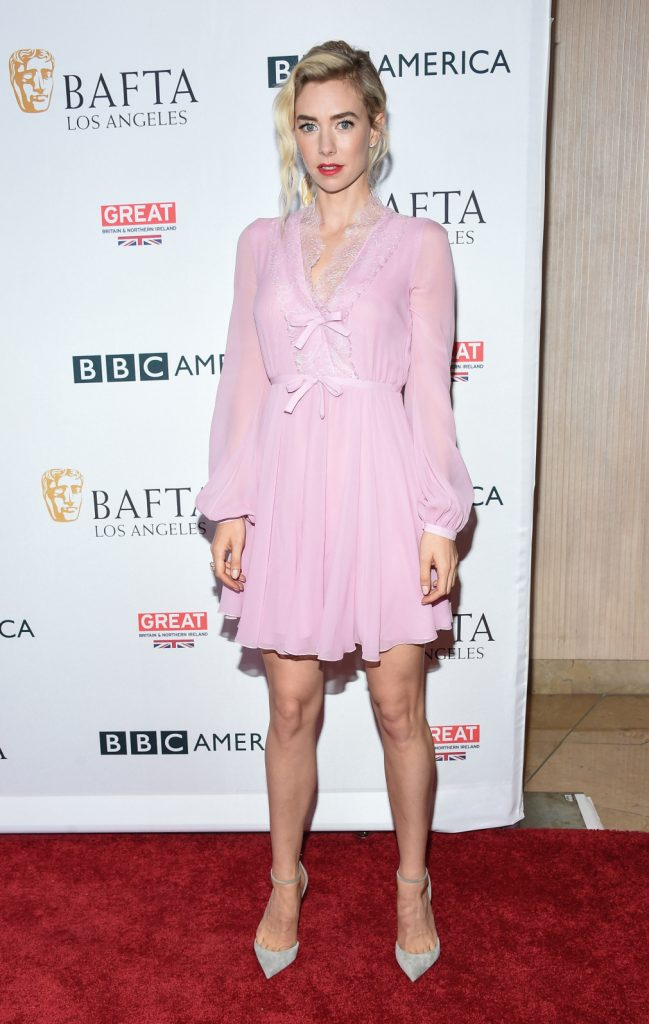 Vanessa Kirby arrives for BAFTA TV Tea Party
