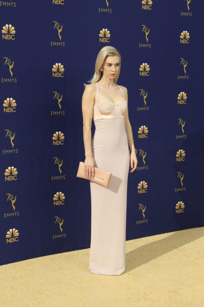 Vanessa Kirby at the Emmy Awards