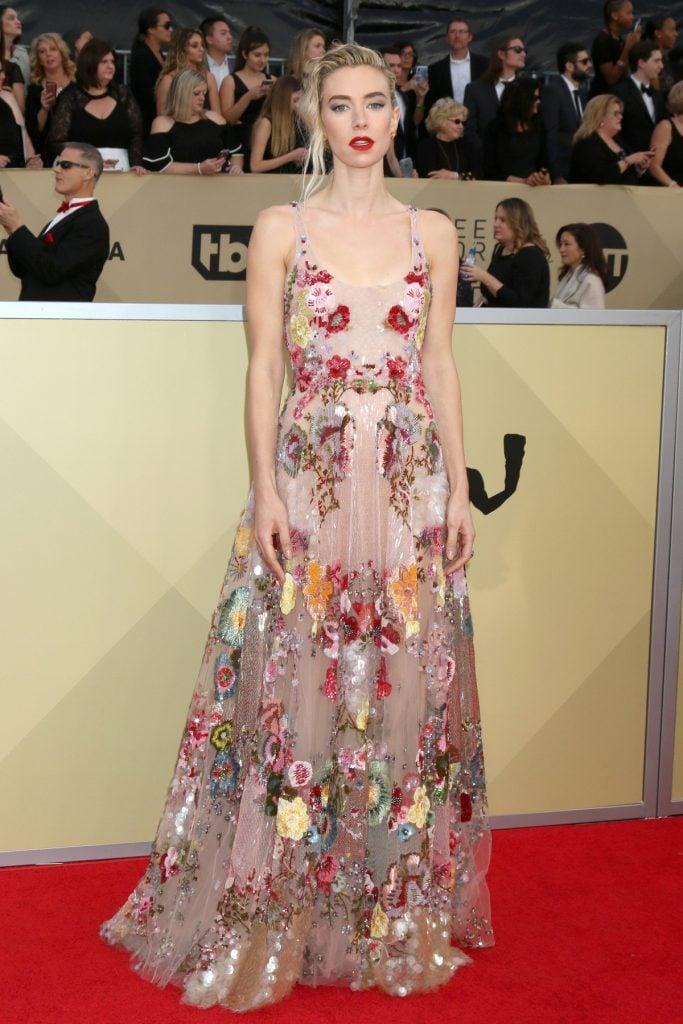 Vanessa Kirby at the Screen Actors Guild Awards