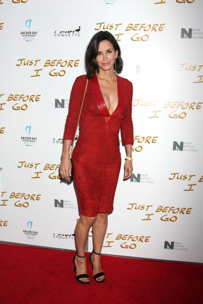 Actress Courteney Cox