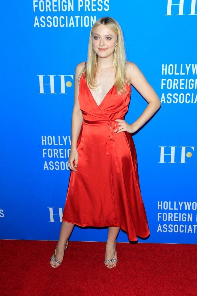 Actress Dakota Fanning