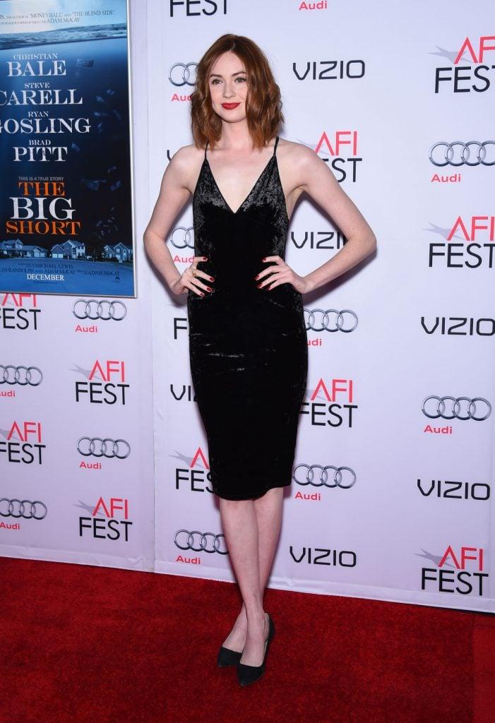 Actress Karen Gillan