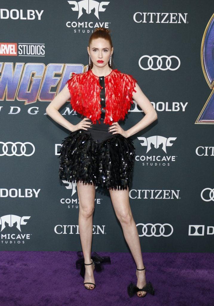 Actress Karen Gillan at the World premiere of Avengers Endgame