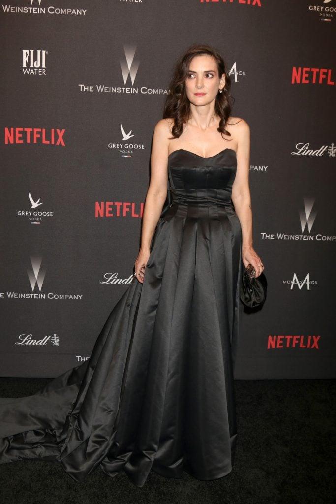 Actress Winona Ryder