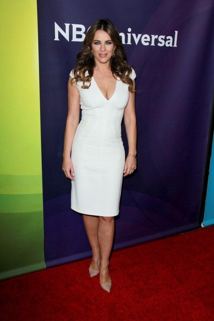 Actress and Model Elizabeth Hurley