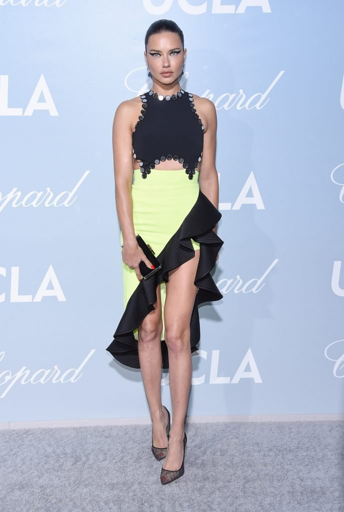 Adriana Lima at the UCLA Hollywood for Science Gala