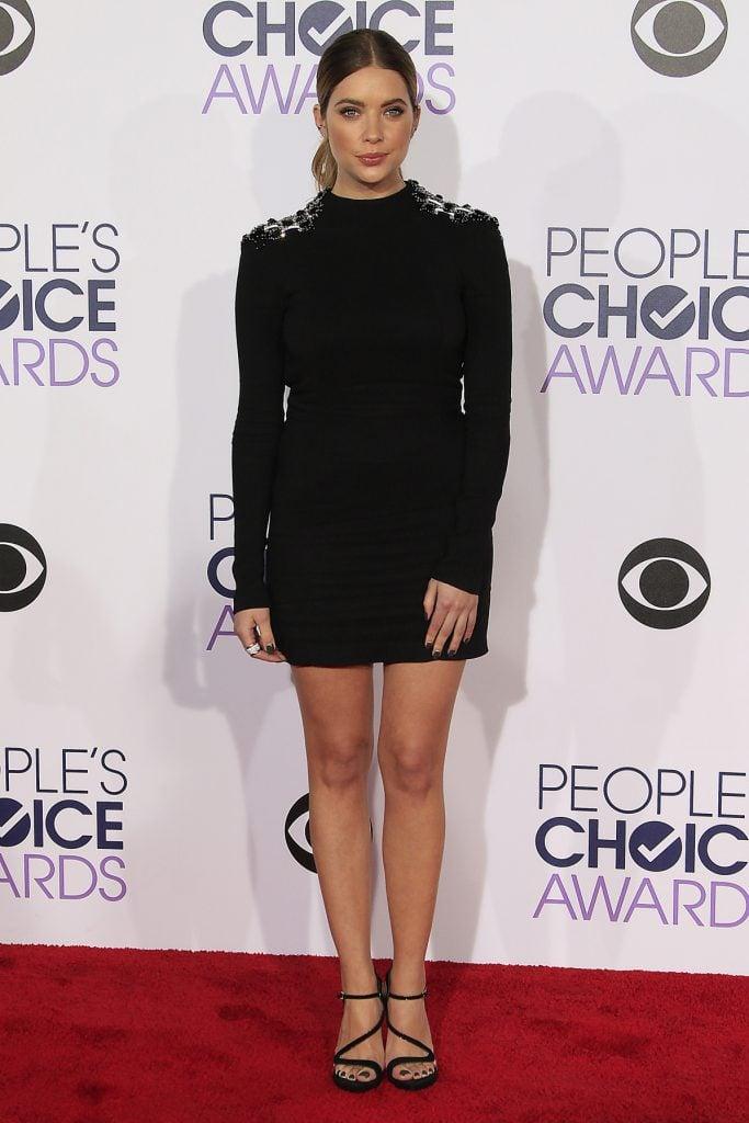 Ashley Benson at the Peoples Choice Awards