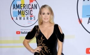 Carrie Underwood at the 2018 American Music Awards held at the M