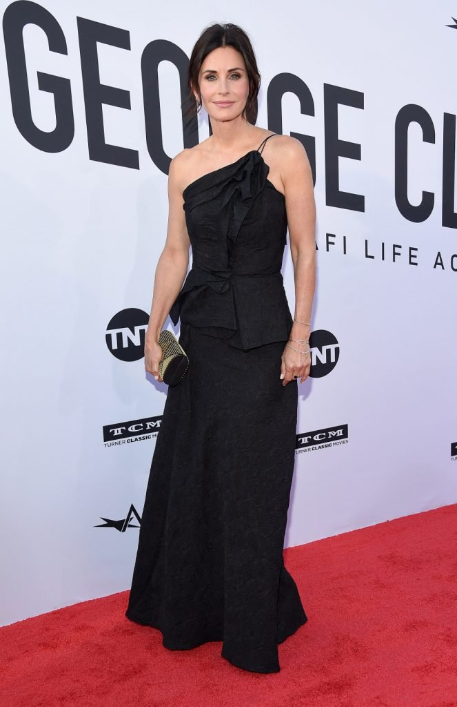 Courteney Cox at the the AFI Lifetime Achievement Awards