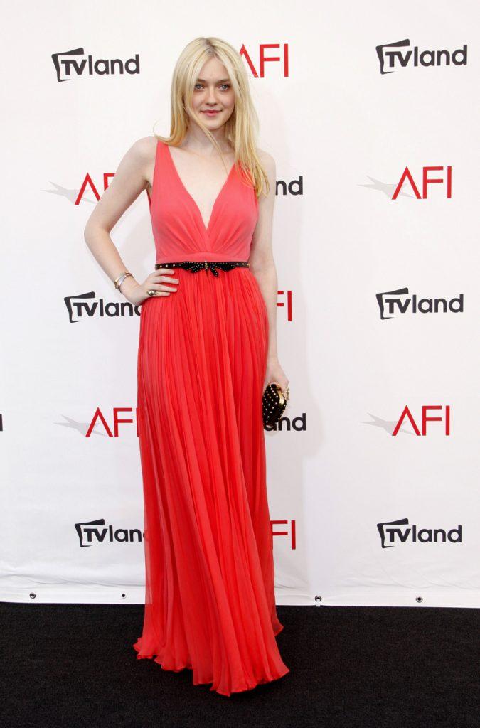 Dakota Fanning at the AFI Life Achievement Award