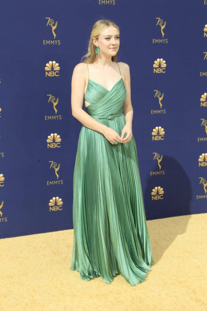Dakota Fanning at the Emmy Awards