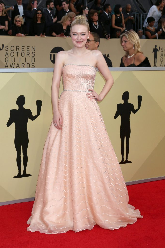 Dakota Fanning at the Screen Actors Guild Awards