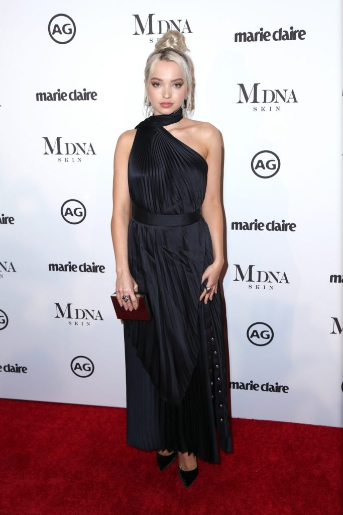 Dove Cameron at the Marie Claire Image Makers Awards