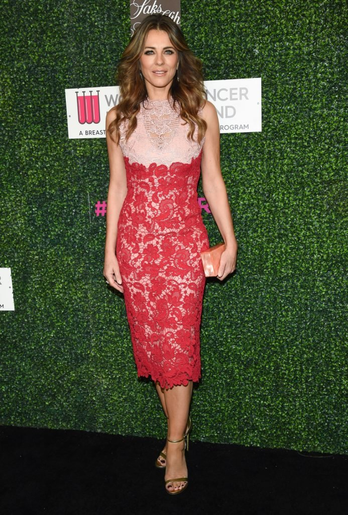 Elizabeth Hurley at the An Unforgettable Evening