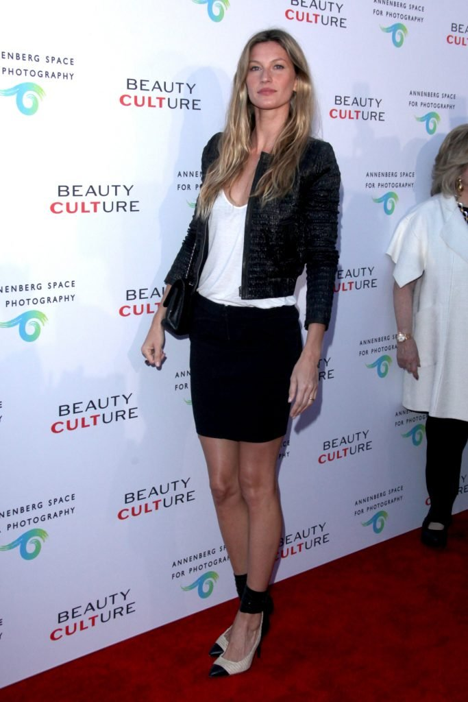 Gisele Bundchen at the Opening Night of the Beauty Culture Exhibit