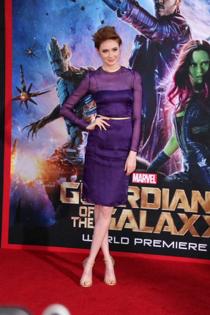 Karen Gillan at the Guardians Of The Galaxy movie Premiere