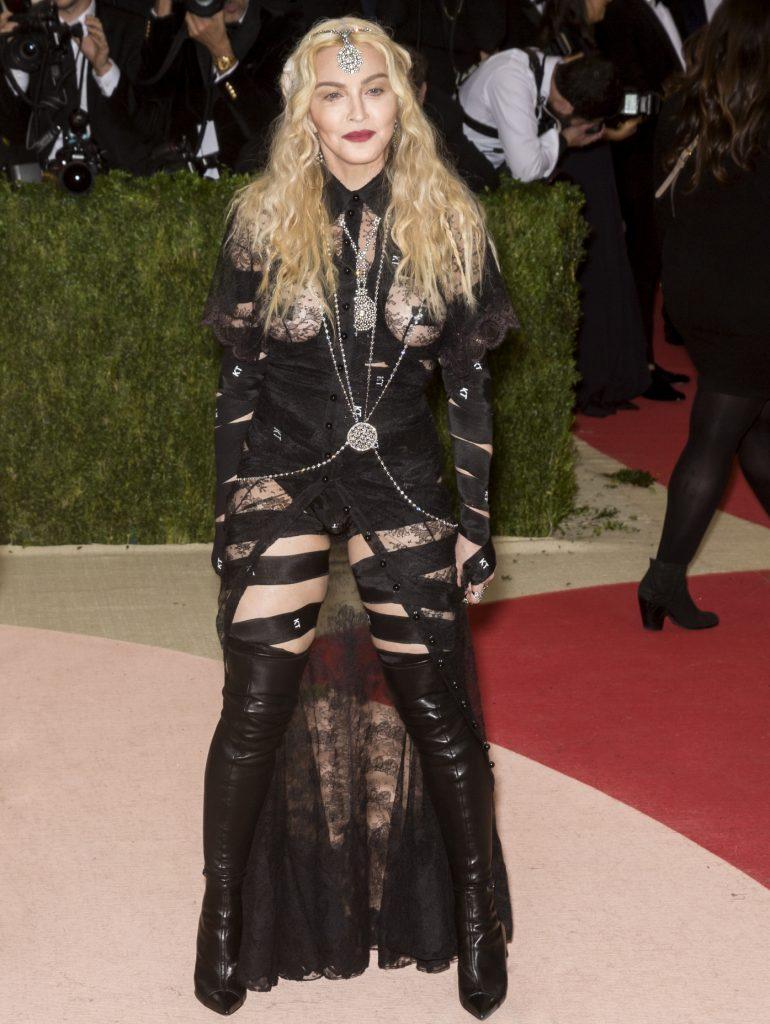 Madonna at Met Gala