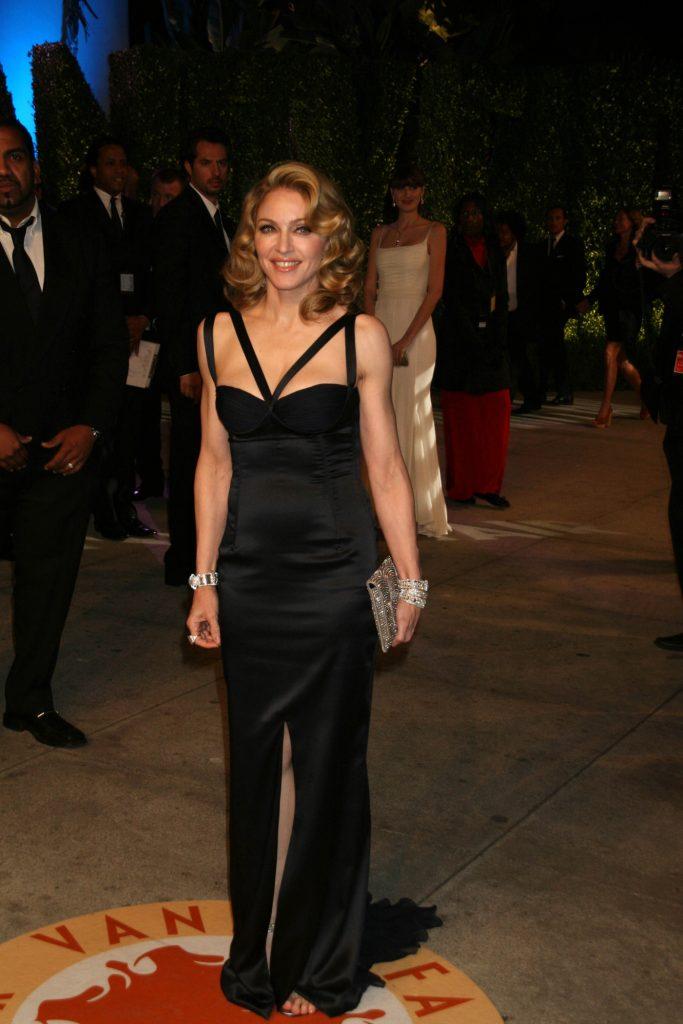 Madonna at the Vanity Fair Oscar Party