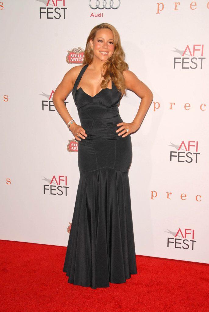 Mariah Carey at the AFI Fest Premiere of Precious