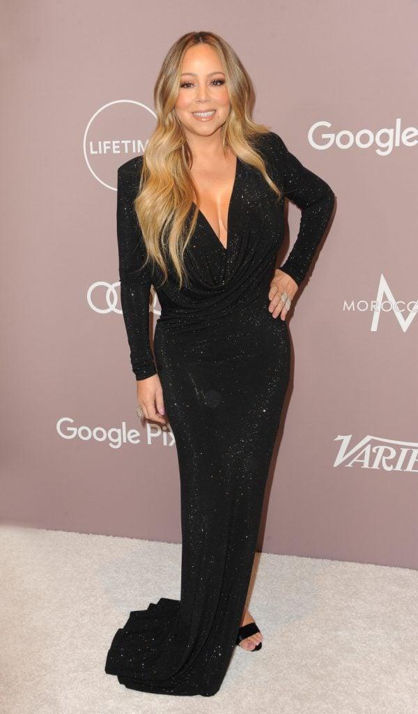 Mariah Carey at the Variety's Power Of Women