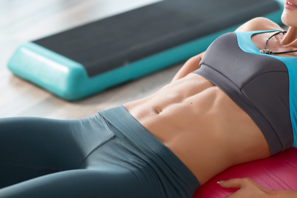 Megan Fox abs exercises