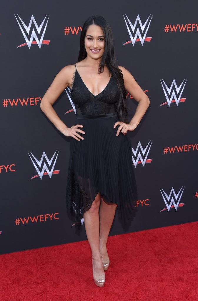 Nikki Bella at the WWE FYC Event