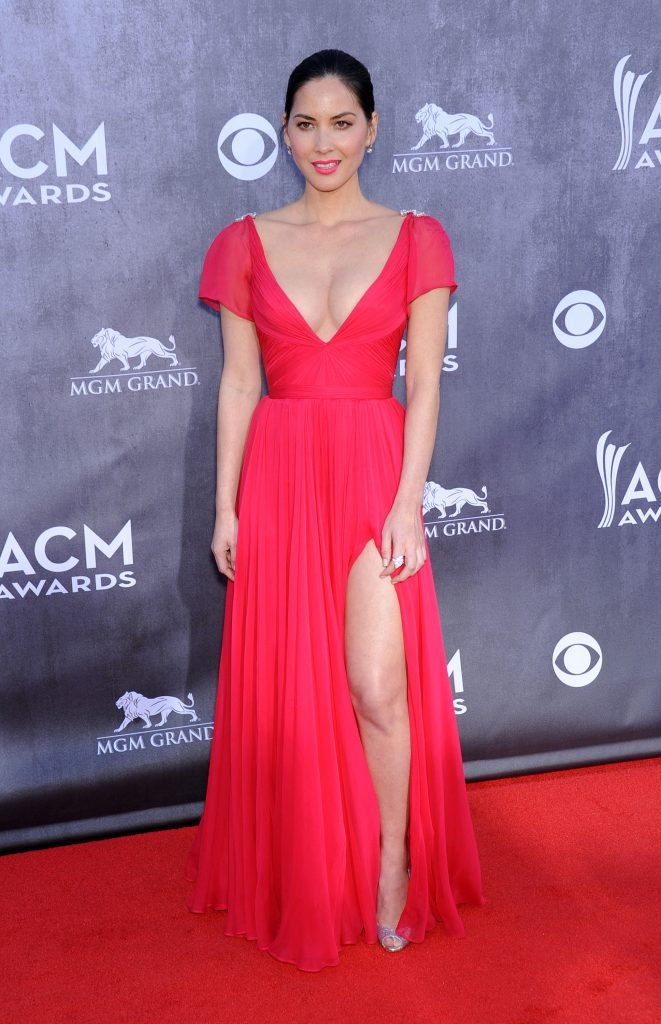 Olivia Munn at the Annual Academy of Country Music Awards