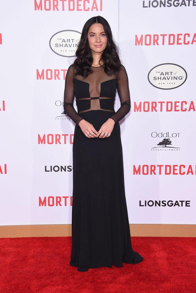 Olivia Munn at the Mortdecai Movie Premiere