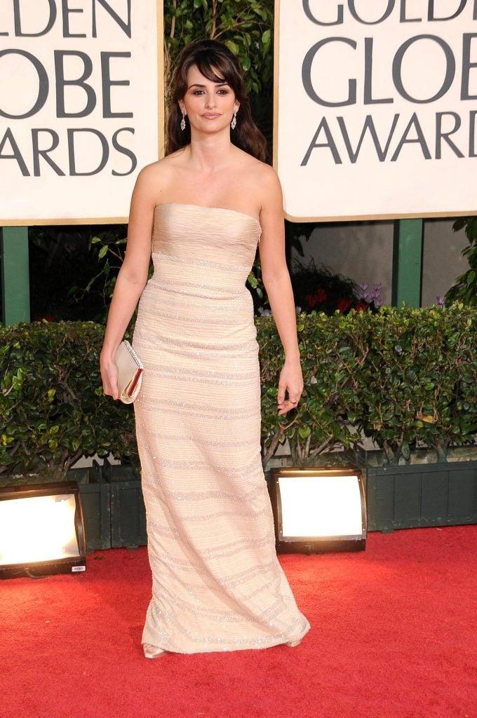 Penelope Cruz at the Golden Globe Awards