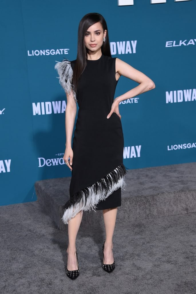 Sofia Carson at the Midway World Premiere