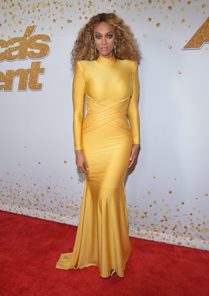 Tyra Banks at the America's Got Talent