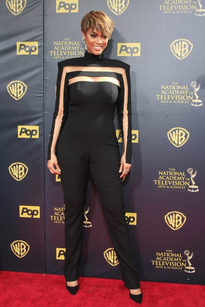 Tyra Banks at the Daytime Emmy Awards