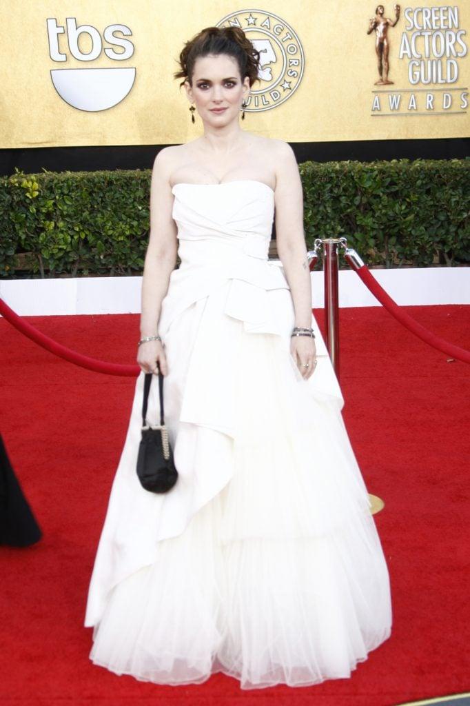 Winona Ryder at The Annual SAG Awards
