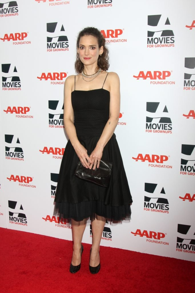 Winona Ryder at the AARP Movies for Grownups Awards