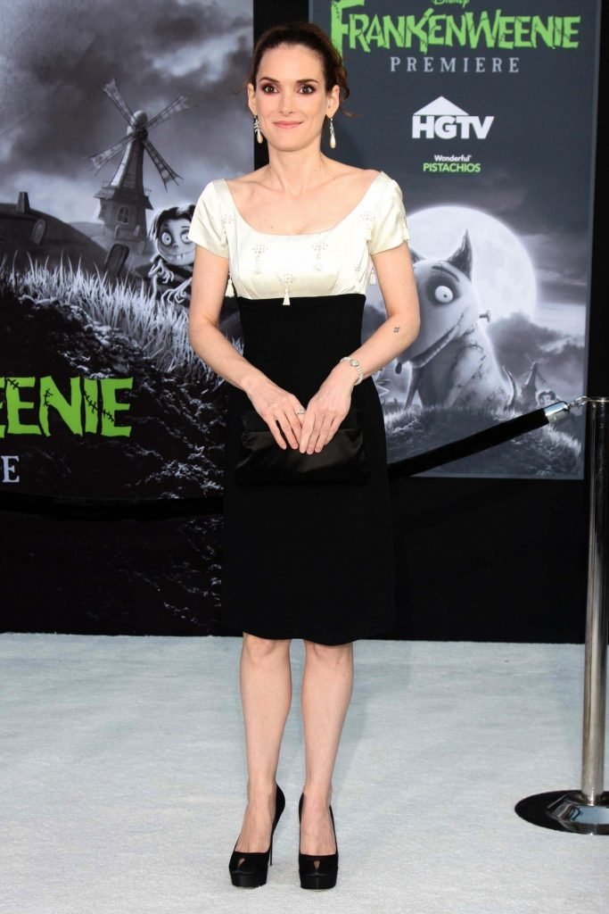 Winona Ryder at the Frankenweenie Los Angeles Premiere