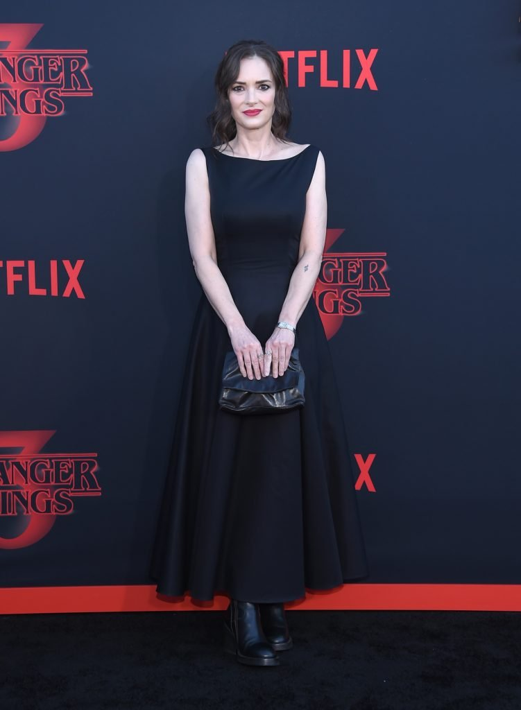 Winona Ryder at the Netflix Stranger Things premiere