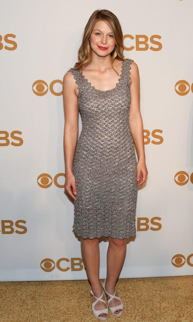Actress Melissa Benoist at the CBS Upfront