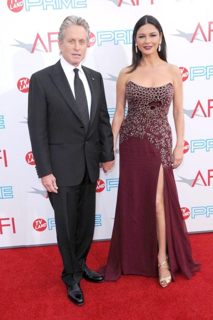 Catherine Zeta-Jones and Michael Douglas at the Annual AFI Lifetime Achievement Awards