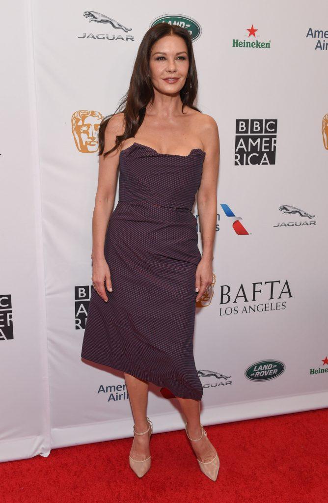 Catherine Zeta-Jones at the BAFTA and BBC America TV Tea Part