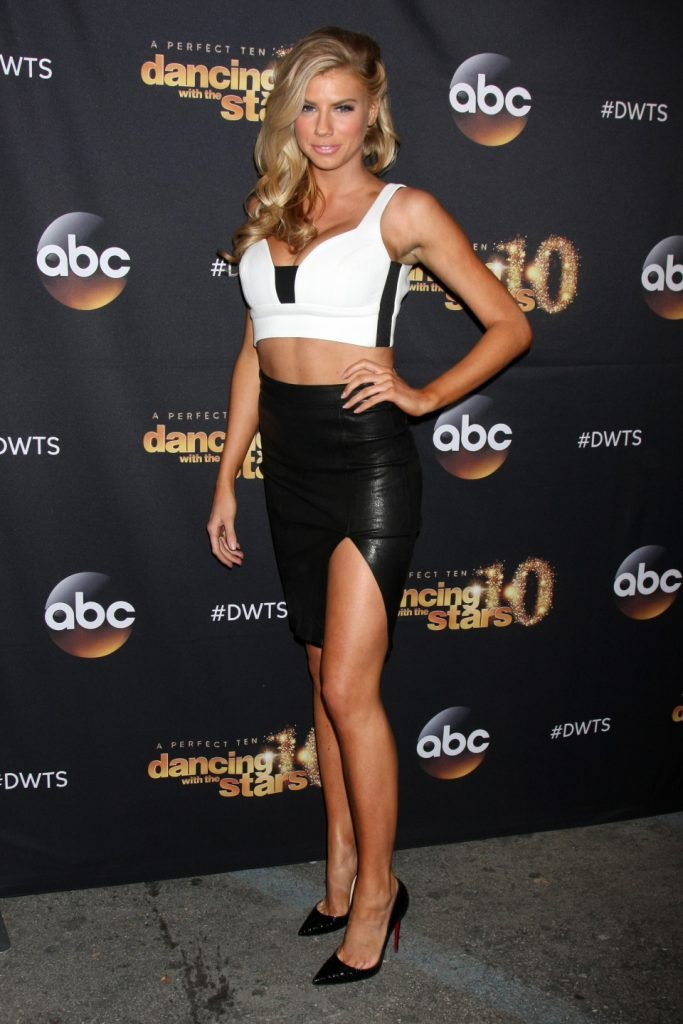 Charlotte McKinney at the Dancing With the Stars Premiere